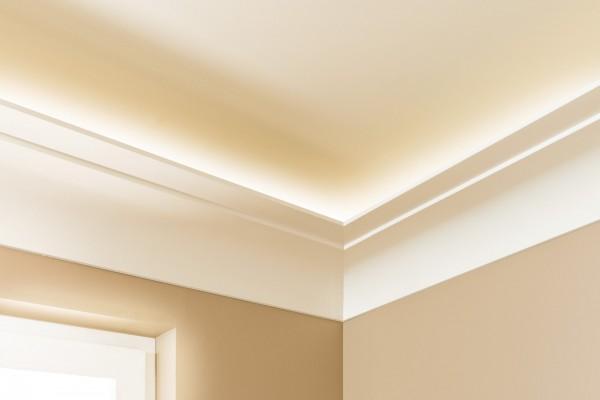 Lichtleiste AD22 ARSTYL® für indirekte Beleuchtung Stuckleiste