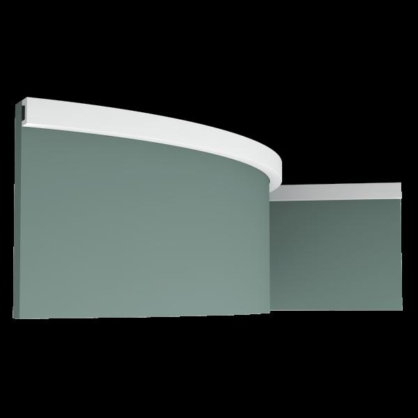 Stuckleiste CX190F U-PROFILE ORAC DECOR Duropolymer / AXXENT