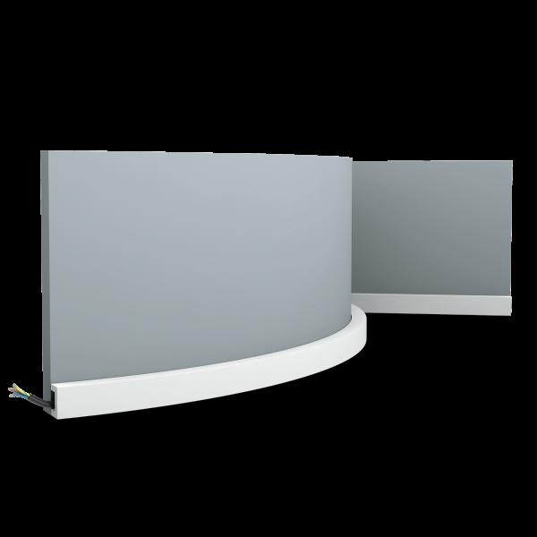 Sockelleiste CX190F U-PROFILE ORAC DECOR Duropolymer / AXXENT