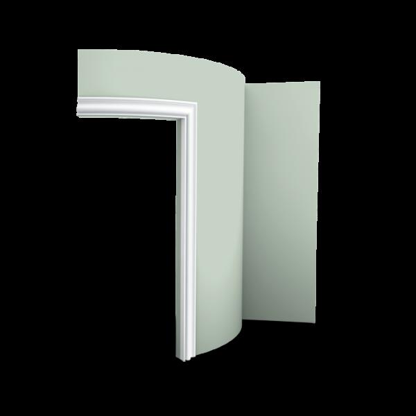 Tür- und Fensterumrandung DX174F ORAC DECOR Duropolymer / AXXENT