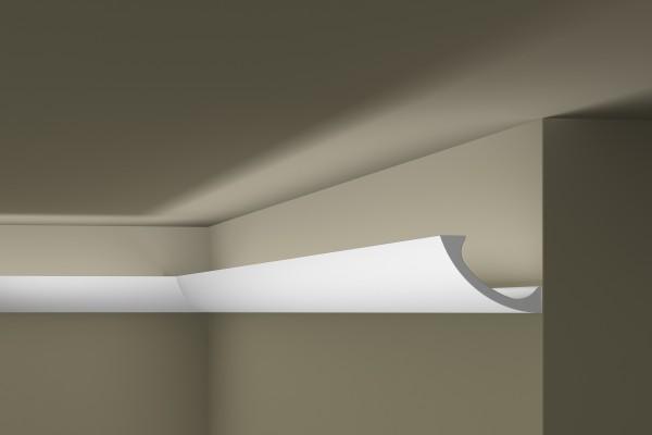 Lichtleiste WT3 WALLSTYL® für indirekte Beleuchtung Stuckleiste