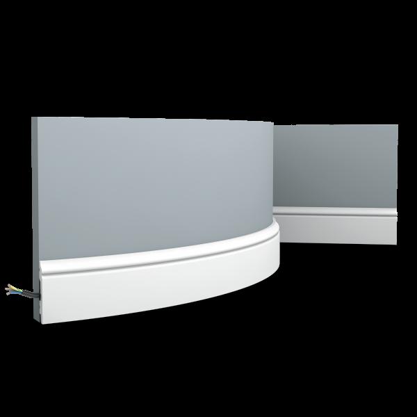 Sockelleiste SX165F CONTOUR ORAC DECOR Duropolymer / AXXENT