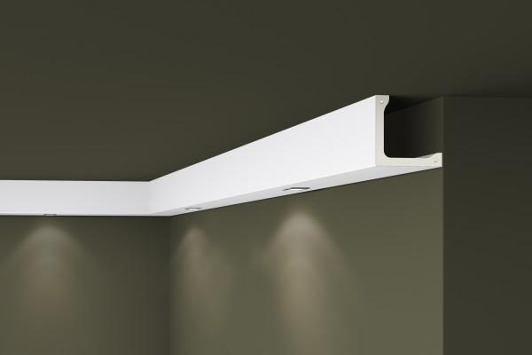 Lichtleiste L4 ARSTYL® für direkte Beleuchtung Stuckleiste