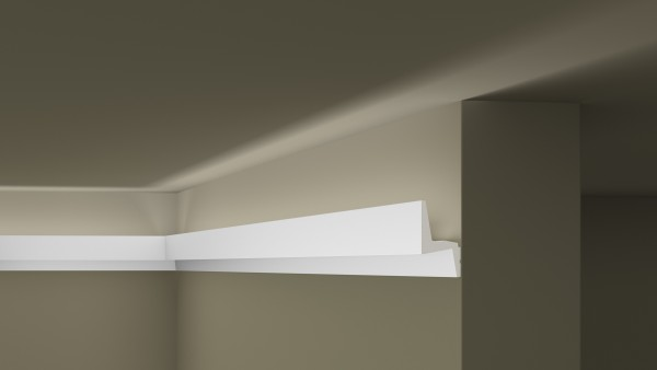 Lichtleiste IL6 ARSTYL® für indirekte Beleuchtung IL6 Stuckleiste