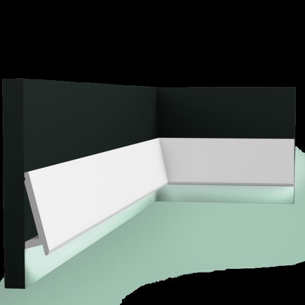 Lichtleiste SX179 DIAGONAL ORAC DECOR Stuckleiste Duropolymer / AXXENT