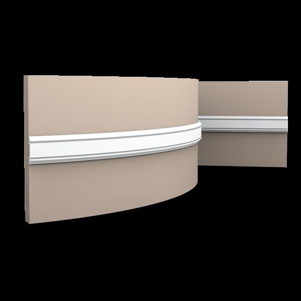 Wandleiste PX144F ORAC DECOR Stuckleiste Duropolymer / AXXENT
