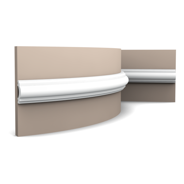 Wandleiste PX120F ORAC DECOR Stuckleiste Duropolymer / AXXENT
