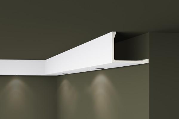 Lichtleiste L2 ARSTYL® für direkte Beleuchtung Stuckleiste