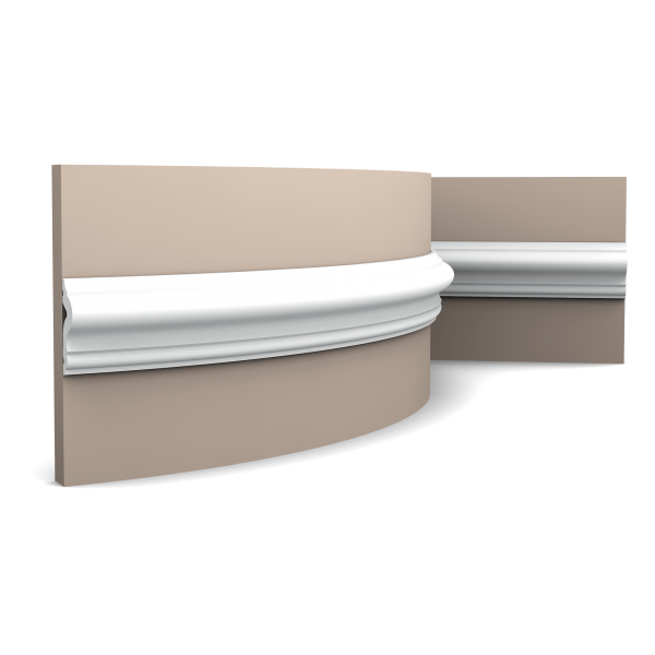 Wandleiste PX175F ORAC DECOR Stuckleiste Duropolymer / AXXENT