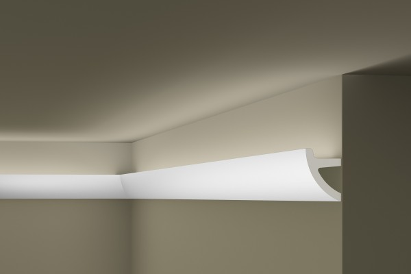 Lichtleiste IL1 ARSTYL® für indirekte Beleuchtung Stuckleiste