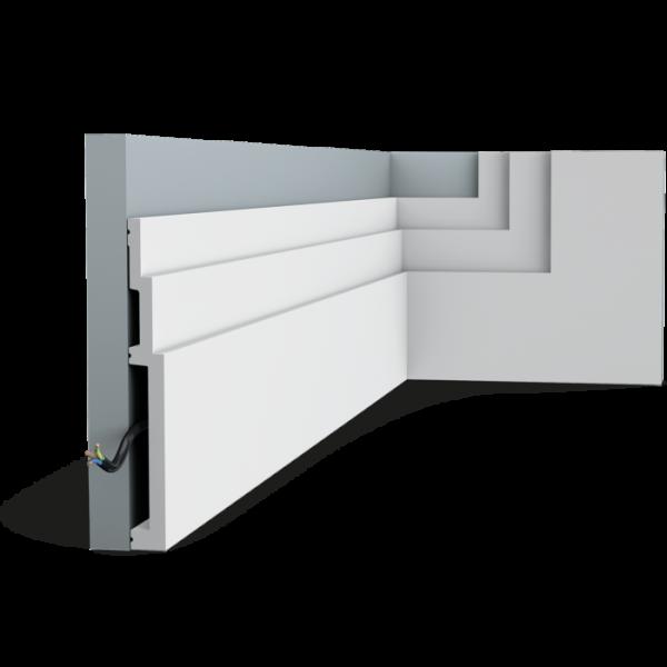 Sockelleiste SX181 HIGH LINE ORAC DECOR Duropolymer / AXXENT