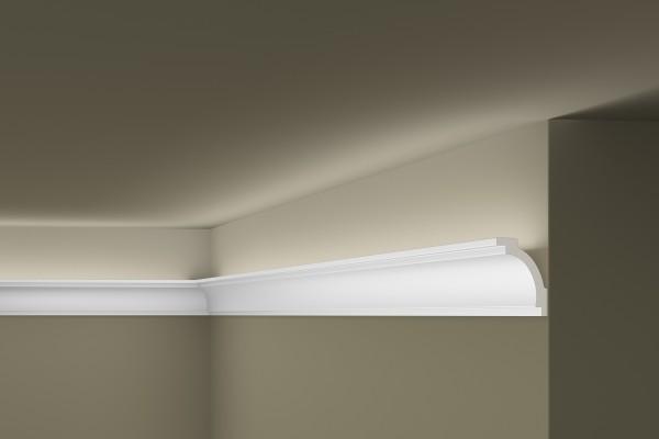 Lichtleiste Z16 ARSTYL® für indirekte Beleuchtung Stuckleiste