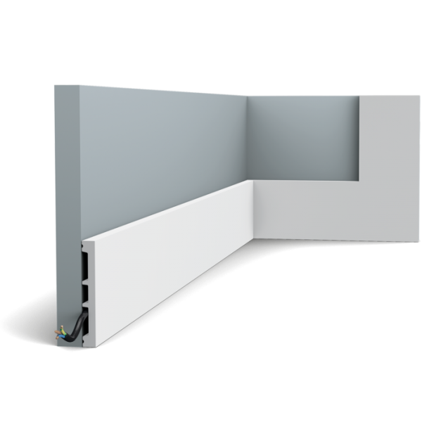 Sockelleiste DX163-2300 SQUARE ORAC DECOR Duropolymer / AXXENT
