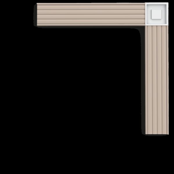 Block P5020B ORAC DECOR Wandleiste Stuckleiste Purotouch / LUXXUS