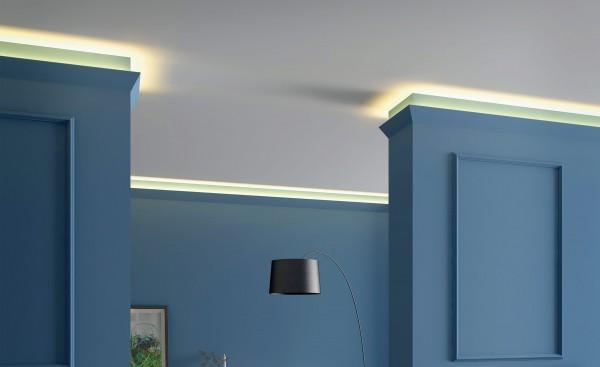 Lichtleiste IL4 WALLSTYL® für indirekte Beleuchtung Stuckleiste