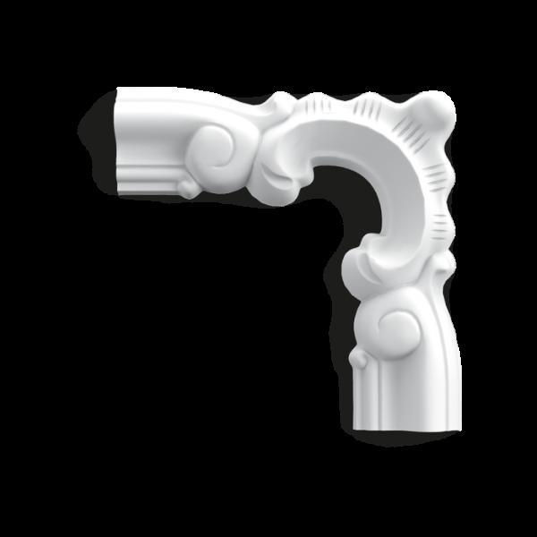 Ecke P8030D ORAC DECOR Wandleiste Duropolymer® AXXENT