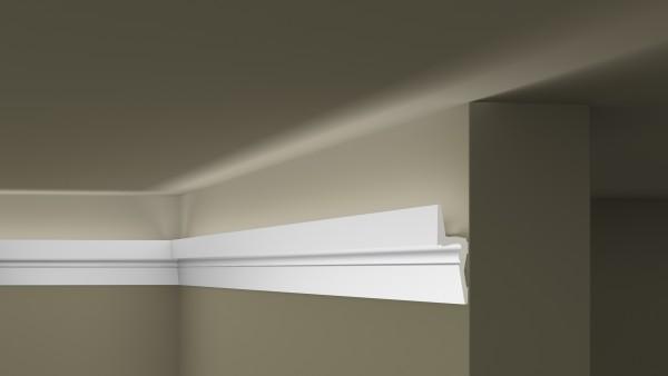 Lichtleiste IL9 Memory ARSTYL® für indirekte Beleuchtung Stuckleiste