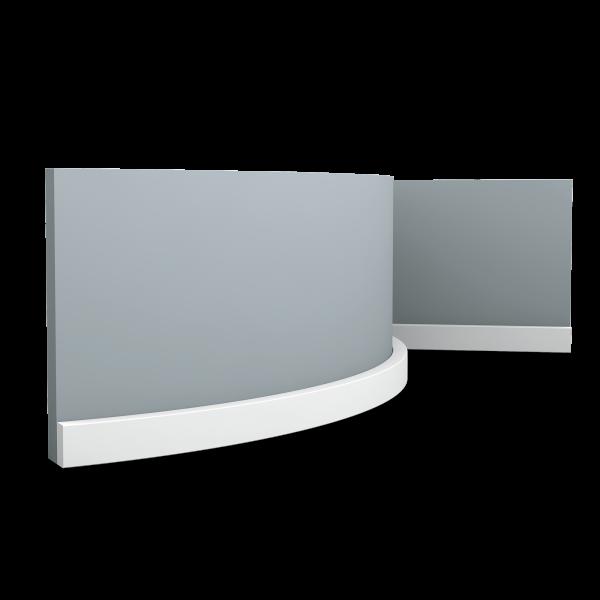 Sockelleiste SX194F Square ORAC DECOR
