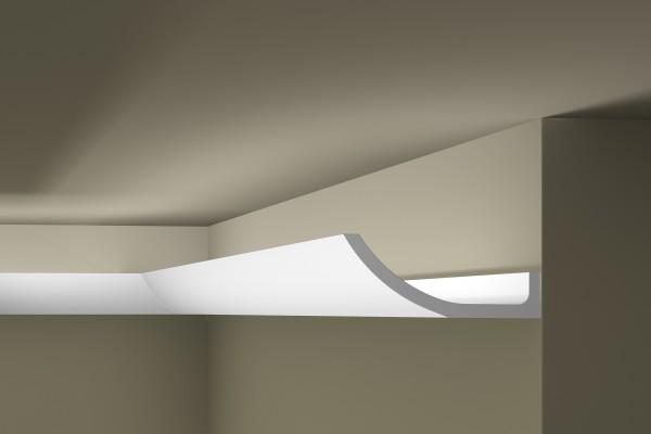 Lichtleiste WT4 WALLSTYL® für indirekte Beleuchtung Stuckleiste