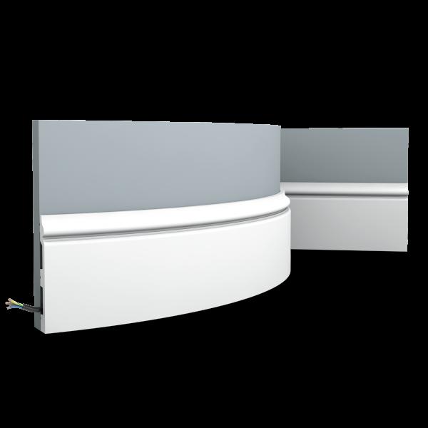 Sockelleiste SX118F CONTOUR ORAC DECOR Duropolymer / AXXENT