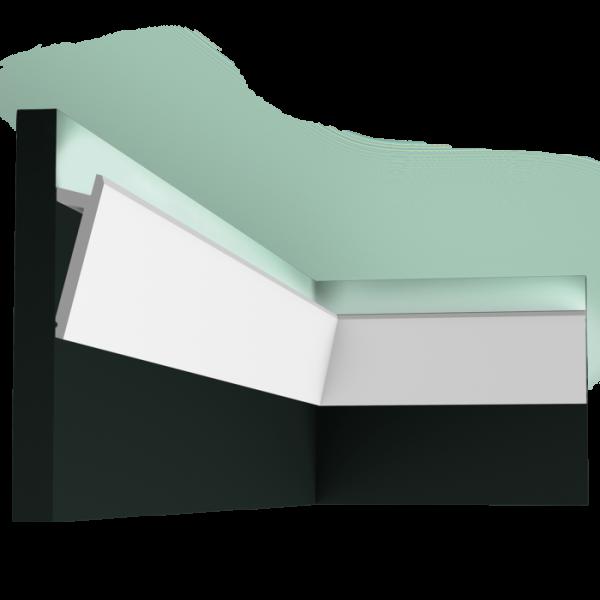 Lichtleiste SX179F DIAGONAL ORAC DECOR Stuckleiste Duropolymer / AXXENT