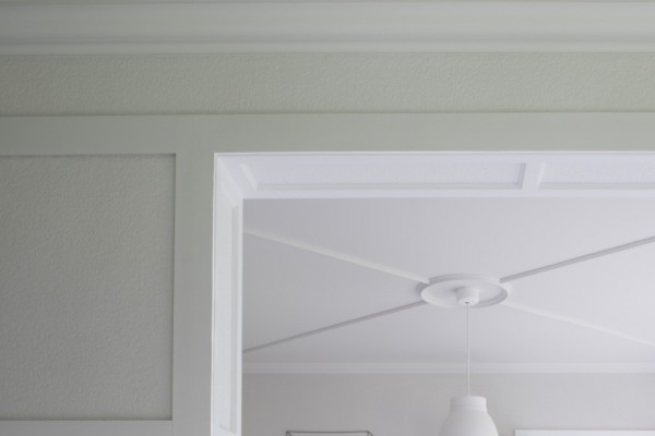Tür- und Fensterumrandung DX157-2300 SQUARE ORAC DECOR Duroplolymer / LUXXUS-