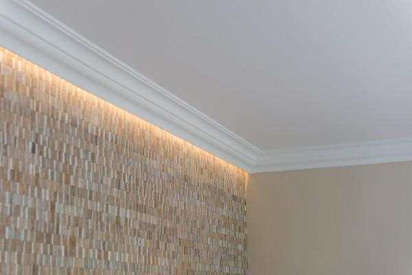 Lichtleiste AT NOMASTYL® für indirekte Beleuchtung Stuckleiste