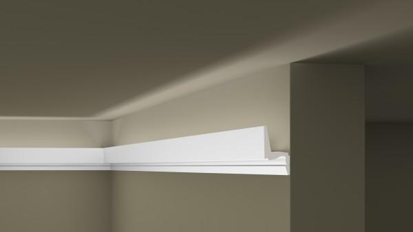 Lichtleiste IL7 Memory ARSTYL® für indirekte Beleuchtung Stuckleiste